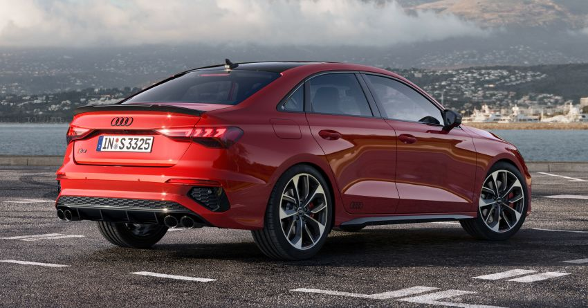 2021 Audi S3 Sedan, Sportback debut – AMG A35 rival with 2.0L TFSI; 310 PS & 400 Nm, 0-100 in 4.8 seconds Image #1158716