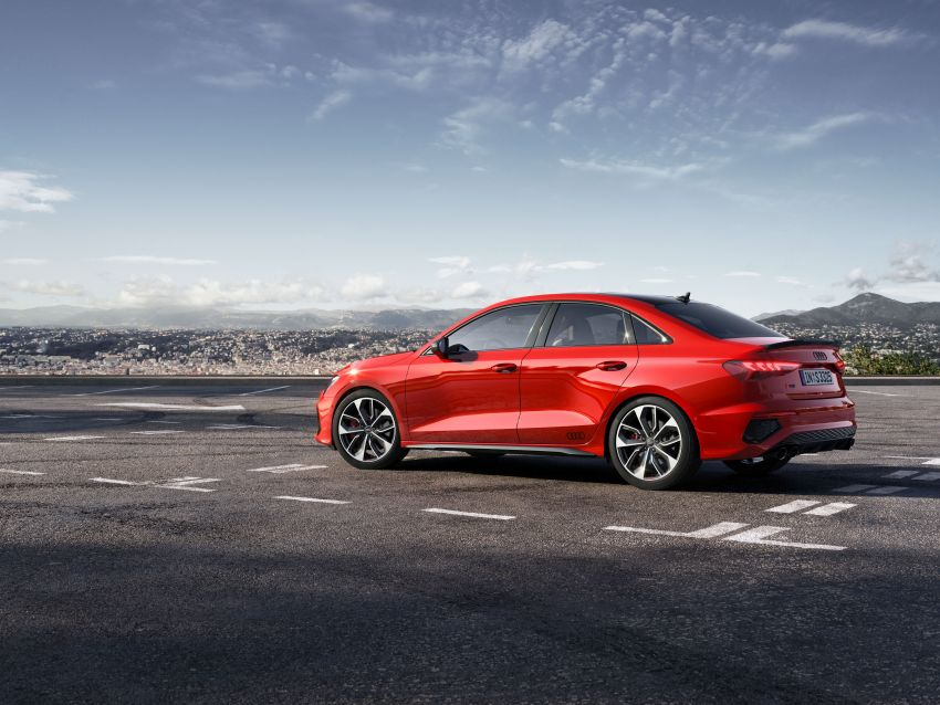 2021 Audi S3 Sedan, Sportback debut – AMG A35 rival with 2.0L TFSI; 310 PS & 400 Nm, 0-100 in 4.8 seconds Image #1158717