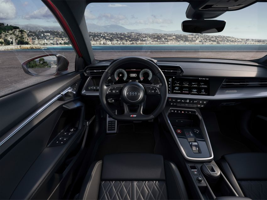 2021 Audi S3 Sedan, Sportback debut – AMG A35 rival with 2.0L TFSI; 310 PS & 400 Nm, 0-100 in 4.8 seconds Image #1158723