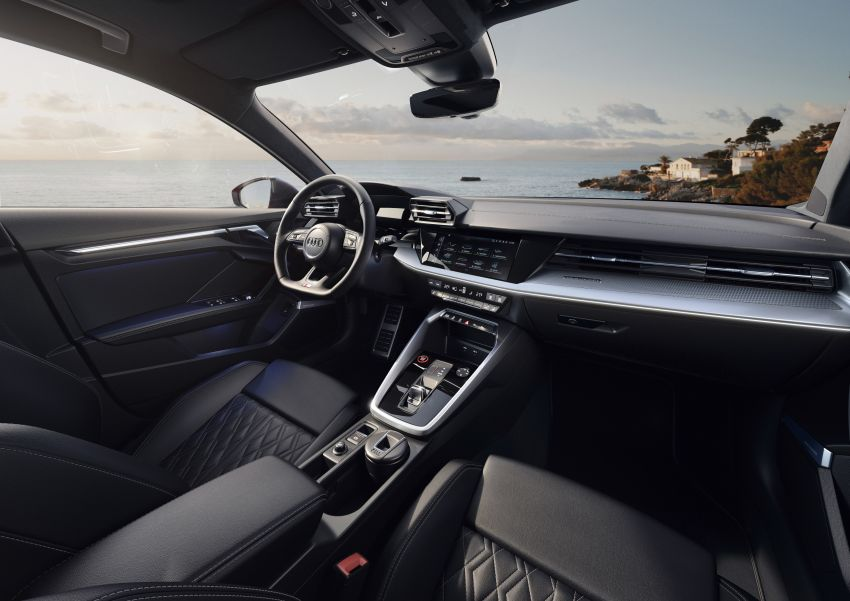 2021 Audi S3 Sedan, Sportback debut – AMG A35 rival with 2.0L TFSI; 310 PS & 400 Nm, 0-100 in 4.8 seconds Image #1158724