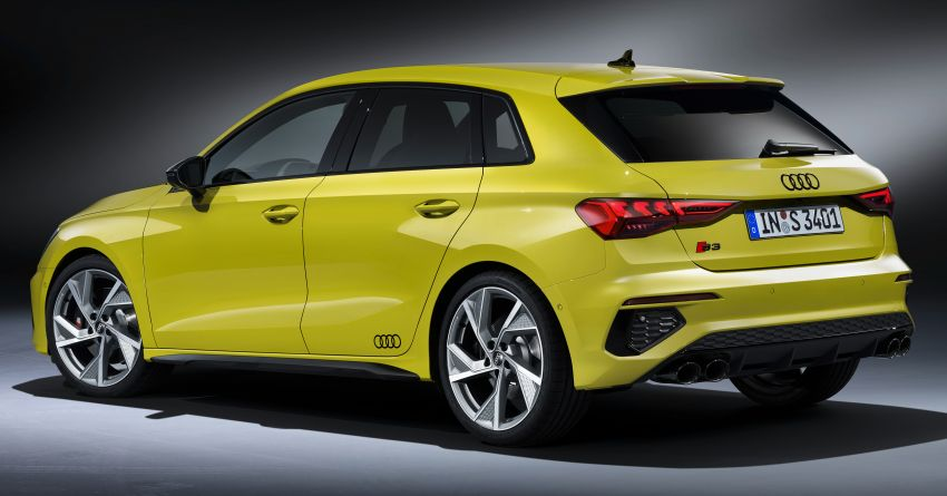 2021 Audi S3 Sedan, Sportback debut – AMG A35 rival with 2.0L TFSI; 310 PS & 400 Nm, 0-100 in 4.8 seconds Image #1158737