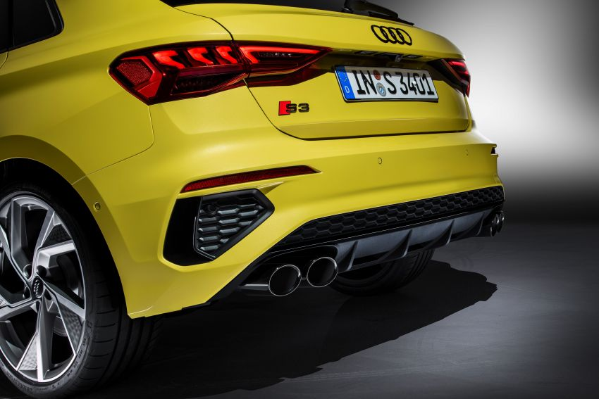 2021 Audi S3 Sedan, Sportback debut – AMG A35 rival with 2.0L TFSI; 310 PS & 400 Nm, 0-100 in 4.8 seconds Image #1158738