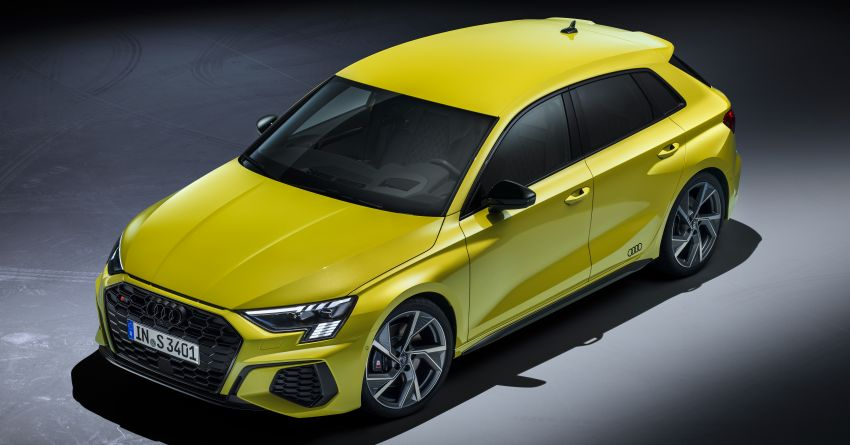 2021 Audi S3 Sedan, Sportback debut – AMG A35 rival with 2.0L TFSI; 310 PS & 400 Nm, 0-100 in 4.8 seconds Image #1158739