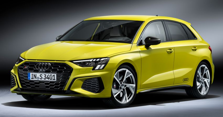 2021 Audi S3 Sedan, Sportback debut – AMG A35 rival with 2.0L TFSI; 310 PS & 400 Nm, 0-100 in 4.8 seconds Image #1158740