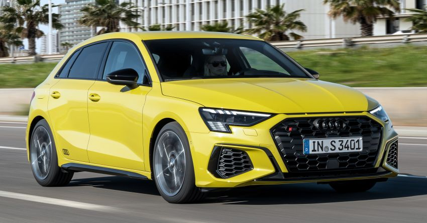 2021 Audi S3 Sedan, Sportback debut – AMG A35 rival with 2.0L TFSI; 310 PS & 400 Nm, 0-100 in 4.8 seconds Image #1158742