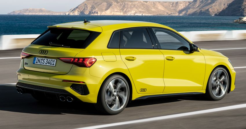 2021 Audi S3 Sedan, Sportback debut – AMG A35 rival with 2.0L TFSI; 310 PS & 400 Nm, 0-100 in 4.8 seconds Image #1158743
