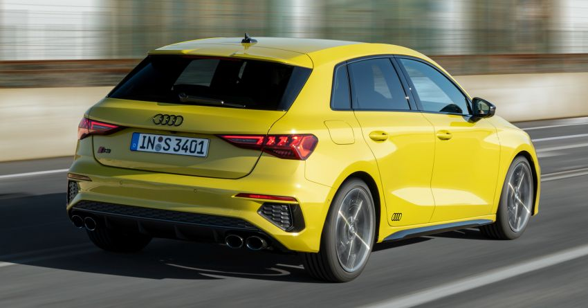 2021 Audi S3 Sedan, Sportback debut – AMG A35 rival with 2.0L TFSI; 310 PS & 400 Nm, 0-100 in 4.8 seconds Image #1158744
