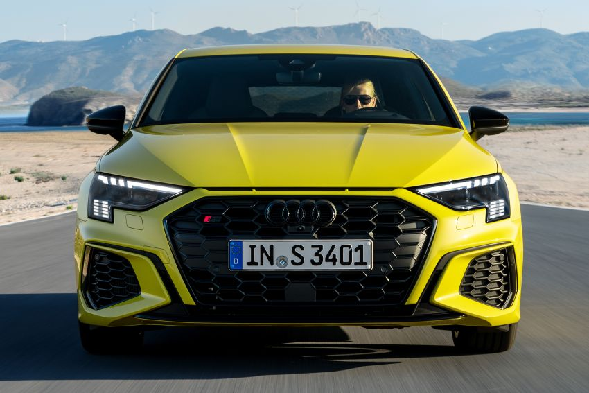 2021 Audi S3 Sedan, Sportback debut – AMG A35 rival with 2.0L TFSI; 310 PS & 400 Nm, 0-100 in 4.8 seconds Image #1158745