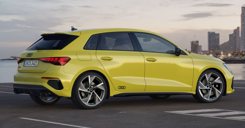 2021 Audi S3 Sedan, Sportback debut – AMG A35 rival with 2.0L TFSI; 310 PS & 400 Nm, 0-100 in 4.8 seconds Image #1158746