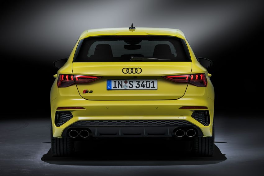2021 Audi S3 Sedan, Sportback debut – AMG A35 rival with 2.0L TFSI; 310 PS & 400 Nm, 0-100 in 4.8 seconds Image #1158728