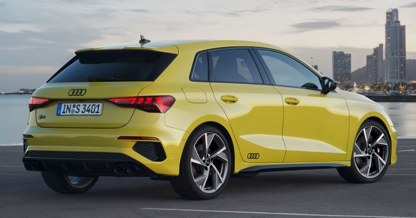 2021 Audi S3 Sedan, Sportback debut – AMG A35 rival with 2.0L TFSI; 310 PS & 400 Nm, 0-100 in 4.8 seconds Image #1158747