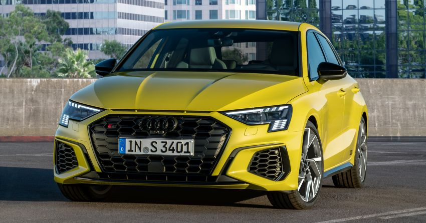 2021 Audi S3 Sedan, Sportback debut – AMG A35 rival with 2.0L TFSI; 310 PS & 400 Nm, 0-100 in 4.8 seconds Image #1158748