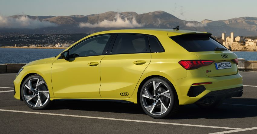 2021 Audi S3 Sedan, Sportback debut – AMG A35 rival with 2.0L TFSI; 310 PS & 400 Nm, 0-100 in 4.8 seconds Image #1158754