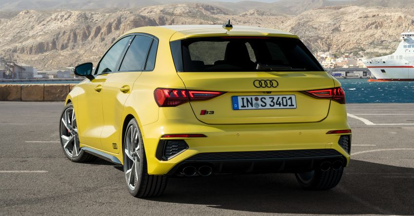 2021 Audi S3 Sedan, Sportback debut – AMG A35 rival with 2.0L TFSI; 310 PS & 400 Nm, 0-100 in 4.8 seconds Image #1158756