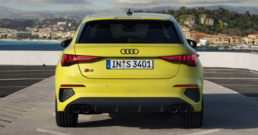 2021 Audi S3 Sedan, Sportback debut – AMG A35 rival with 2.0L TFSI; 310 PS & 400 Nm, 0-100 in 4.8 seconds Image #1158757