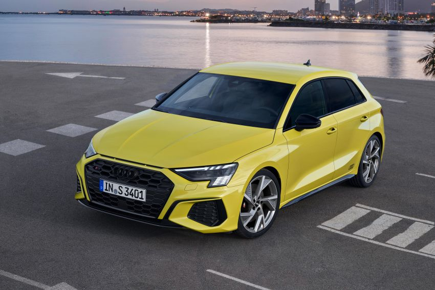 2021 Audi S3 Sedan, Sportback debut – AMG A35 rival with 2.0L TFSI; 310 PS & 400 Nm, 0-100 in 4.8 seconds Image #1158758