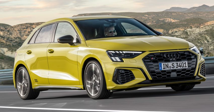 2021 Audi S3 Sedan, Sportback debut – AMG A35 rival with 2.0L TFSI; 310 PS & 400 Nm, 0-100 in 4.8 seconds Image #1158759