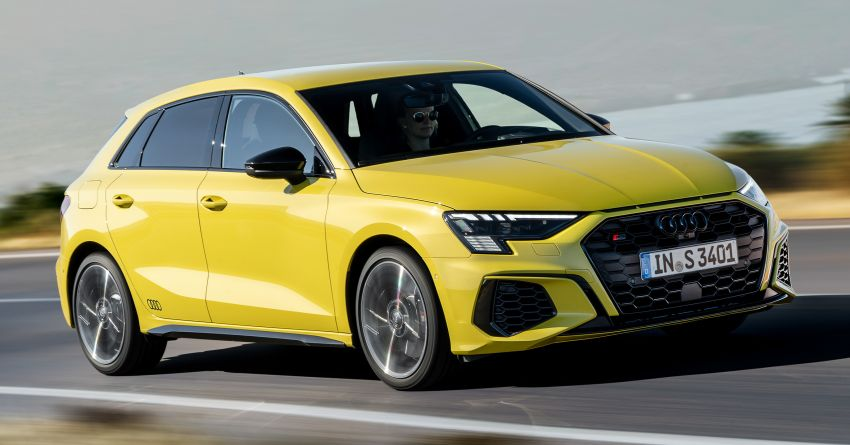 2021 Audi S3 Sedan, Sportback debut – AMG A35 rival with 2.0L TFSI; 310 PS & 400 Nm, 0-100 in 4.8 seconds Image #1158760