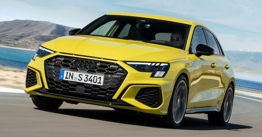 2021 Audi S3 Sedan, Sportback debut – AMG A35 rival with 2.0L TFSI; 310 PS & 400 Nm, 0-100 in 4.8 seconds Image #1158761