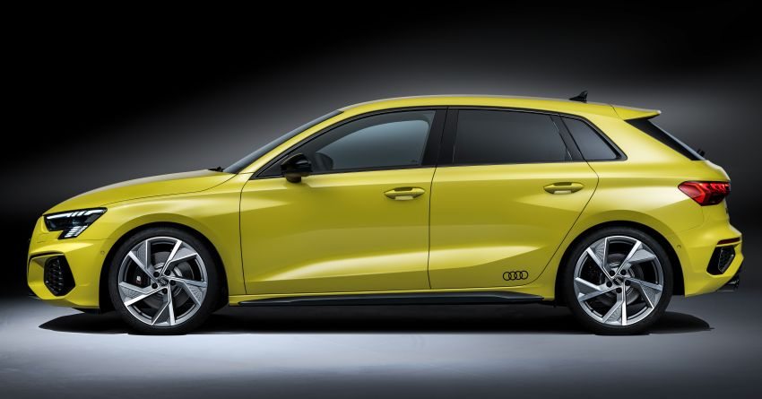 2021 Audi S3 Sedan, Sportback debut – AMG A35 rival with 2.0L TFSI; 310 PS & 400 Nm, 0-100 in 4.8 seconds Image #1158729
