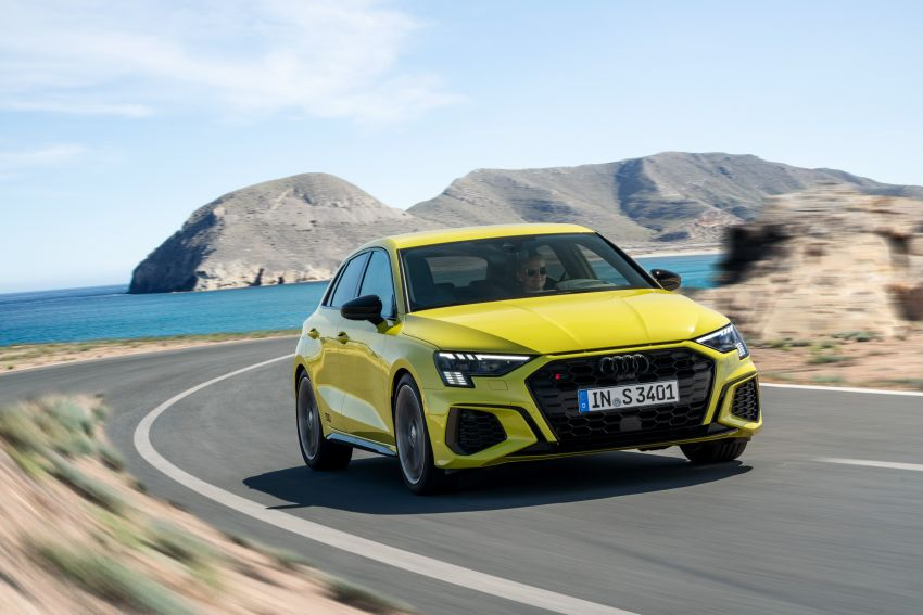 2021 Audi S3 Sedan, Sportback debut – AMG A35 rival with 2.0L TFSI; 310 PS & 400 Nm, 0-100 in 4.8 seconds Image #1158762