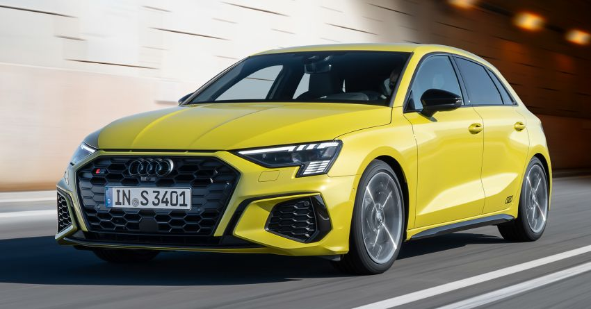 2021 Audi S3 Sedan, Sportback debut – AMG A35 rival with 2.0L TFSI; 310 PS & 400 Nm, 0-100 in 4.8 seconds Image #1158763