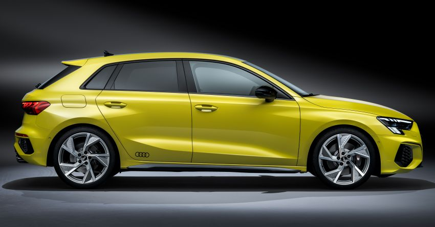 2021 Audi S3 Sedan, Sportback debut – AMG A35 rival with 2.0L TFSI; 310 PS & 400 Nm, 0-100 in 4.8 seconds Image #1158730