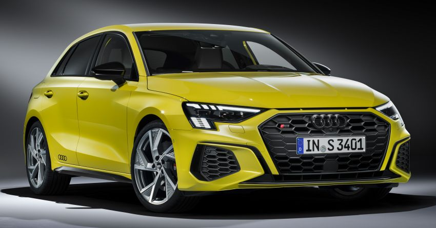 2021 Audi S3 Sedan, Sportback debut – AMG A35 rival with 2.0L TFSI; 310 PS & 400 Nm, 0-100 in 4.8 seconds Image #1158736
