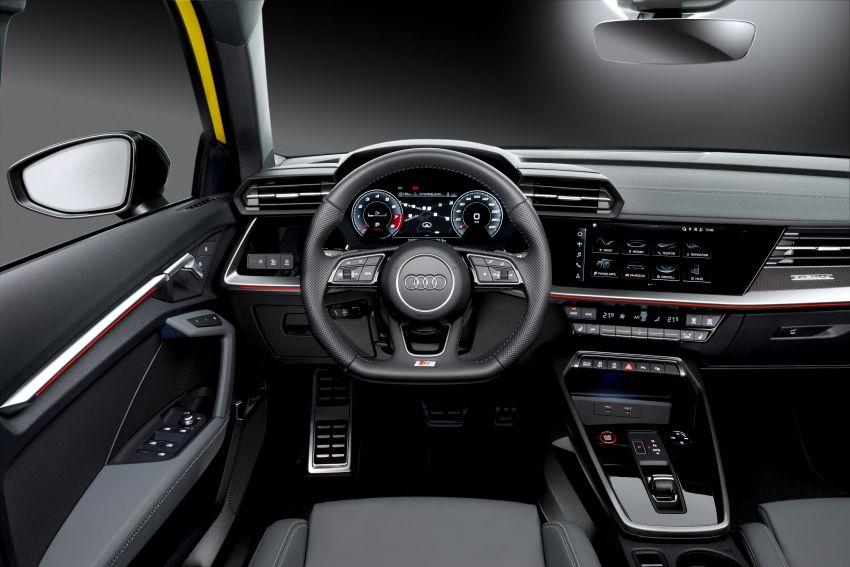 2021 Audi S3 Sedan, Sportback debut – AMG A35 rival with 2.0L TFSI; 310 PS & 400 Nm, 0-100 in 4.8 seconds Image #1158764