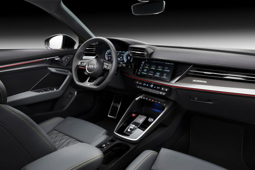 2021 Audi S3 Sedan, Sportback debut – AMG A35 rival with 2.0L TFSI; 310 PS & 400 Nm, 0-100 in 4.8 seconds Image #1158765
