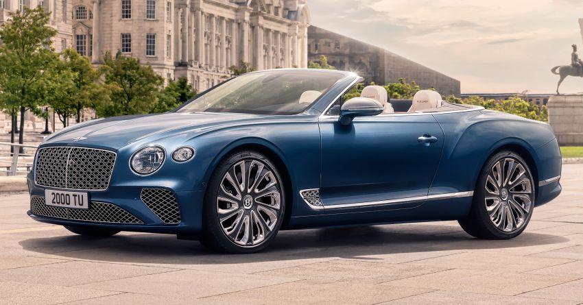 Bentley Continental GT Mulliner Convertible 2021 – tunjuk hasil kerja lebih teliti, enjin W12 635 hp, 900 Nm Image #1155046