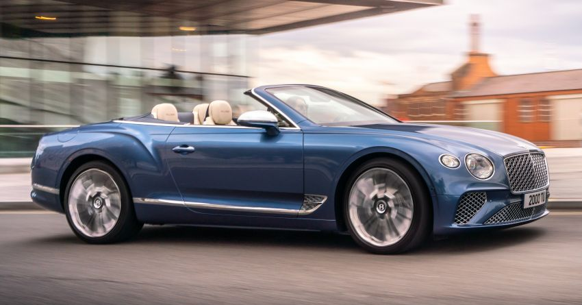 2021 Bentley Continental GT Mulliner Convertible debuts – 6.0L twin-turbo W12, 0-100 km/h in 3.7s! Image #1154955