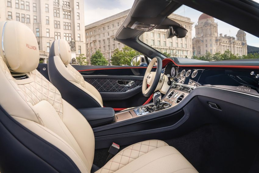 2021 Bentley Continental GT Mulliner Convertible debuts – 6.0L twin-turbo W12, 0-100 km/h in 3.7s! Image #1154956
