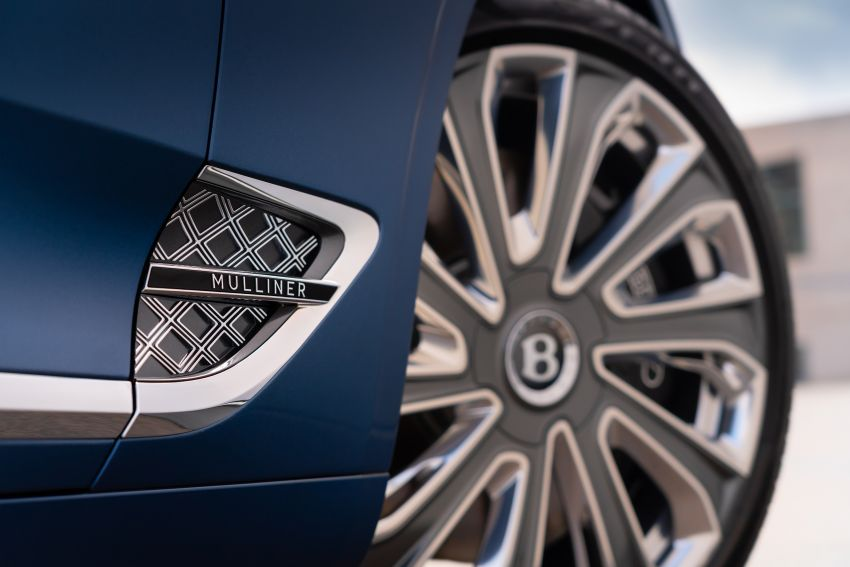 2021 Bentley Continental GT Mulliner Convertible debuts – 6.0L twin-turbo W12, 0-100 km/h in 3.7s! Image #1154957
