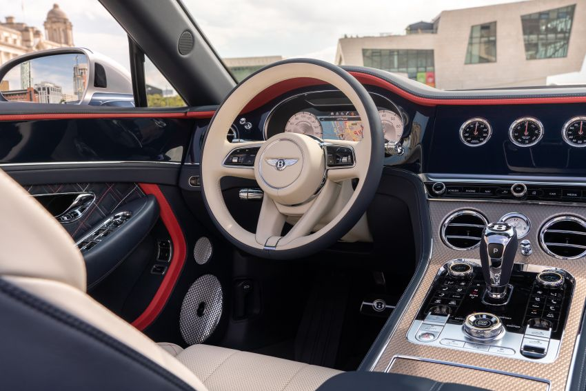 2021 Bentley Continental GT Mulliner Convertible debuts – 6.0L twin-turbo W12, 0-100 km/h in 3.7s! Image #1154952