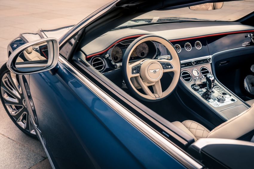 2021 Bentley Continental GT Mulliner Convertible debuts – 6.0L twin-turbo W12, 0-100 km/h in 3.7s! Image #1154954