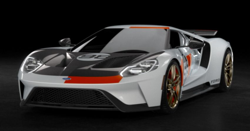 2021 Ford GT Heritage Edition – Daytona '66 inspired Image #1161553