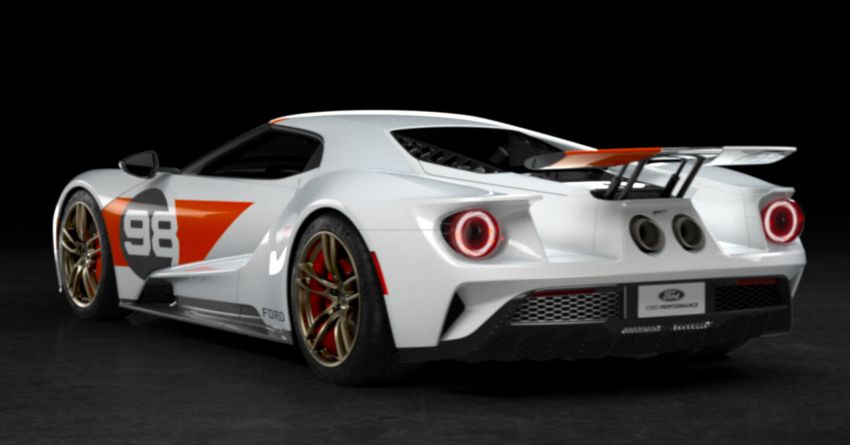 2021 Ford GT Heritage Edition – Daytona '66 inspired Image #1161555