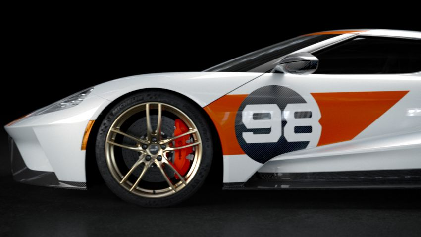 Ford GT Heritage Edition 2021 – inspirasi dari GT40 Ken Miles pada perlumbaan Daytona 24 Jam 1966 Image #1162082