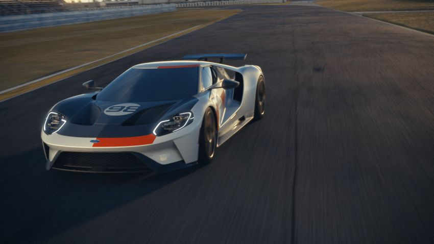 2021 Ford GT Heritage Edition – Daytona '66 inspired Image #1161548