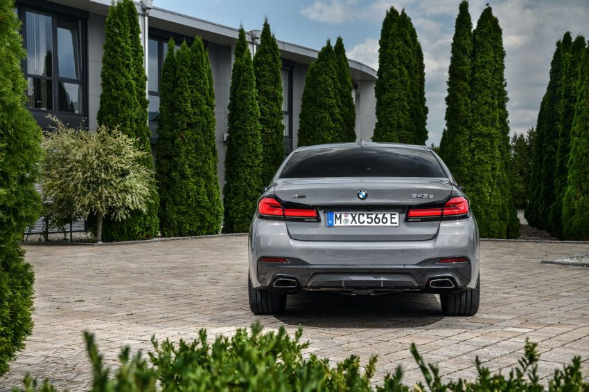 2021 G30 BMW 545e xDrive detailed – fastest BMW PHEV with 394 PS, 600 Nm; 0-100 km/h in 4.7 seconds! Image #1157785