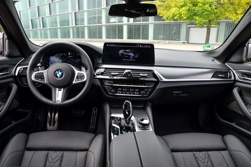 2021 G30 BMW 545e xDrive detailed – fastest BMW PHEV with 394 PS, 600 Nm; 0-100 km/h in 4.7 seconds! Image #1157739