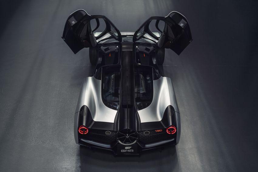GMA T.50 debuts – true McLaren F1 successor with 3.9L NA V12, 12,100 rpm redline, 986 kg; RM13 million! Image #1155309