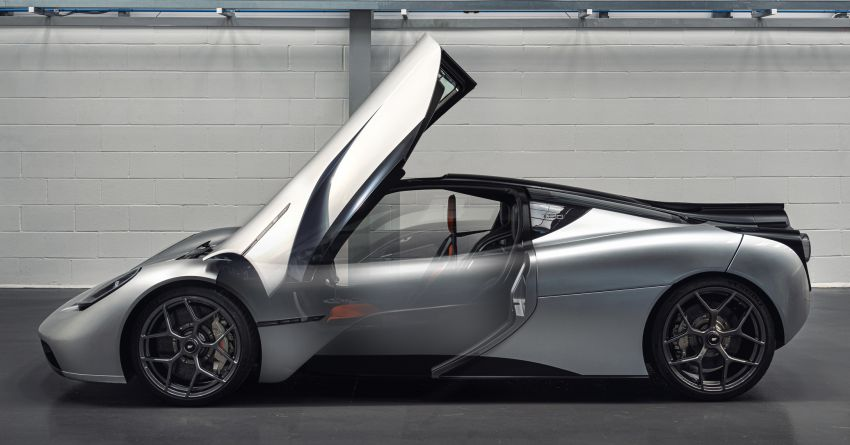 GMA T.50 debuts – true McLaren F1 successor with 3.9L NA V12, 12,100 rpm redline, 986 kg; RM13 million! Image #1155312