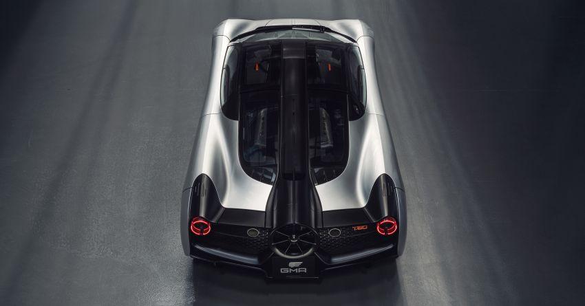 GMA T.50 debuts – true McLaren F1 successor with 3.9L NA V12, 12,100 rpm redline, 986 kg; RM13 million! Image #1155313