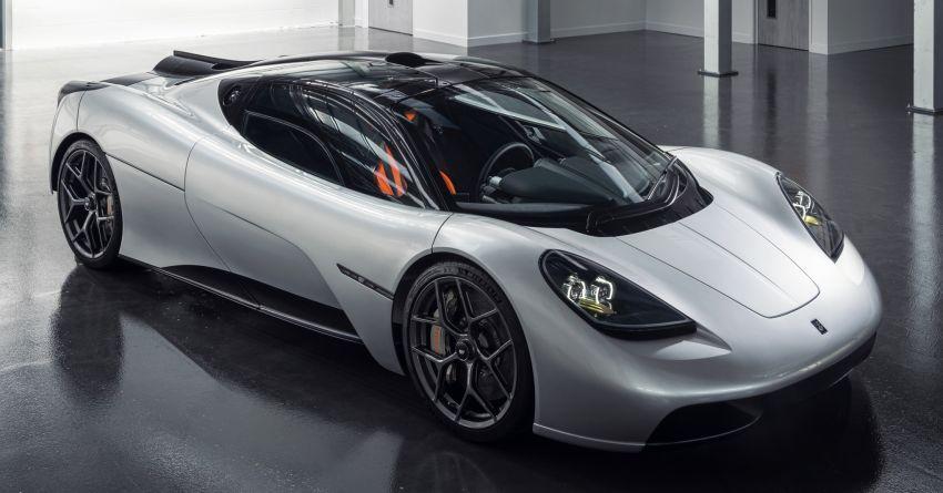 GMA T.50 debuts – true McLaren F1 successor with 3.9L NA V12, 12,100 rpm redline, 986 kg; RM13 million! Image #1155314
