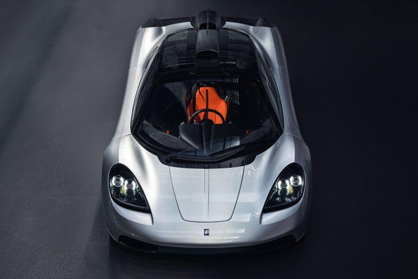 GMA T.50 debuts – true McLaren F1 successor with 3.9L NA V12, 12,100 rpm redline, 986 kg; RM13 million! Image #1155318