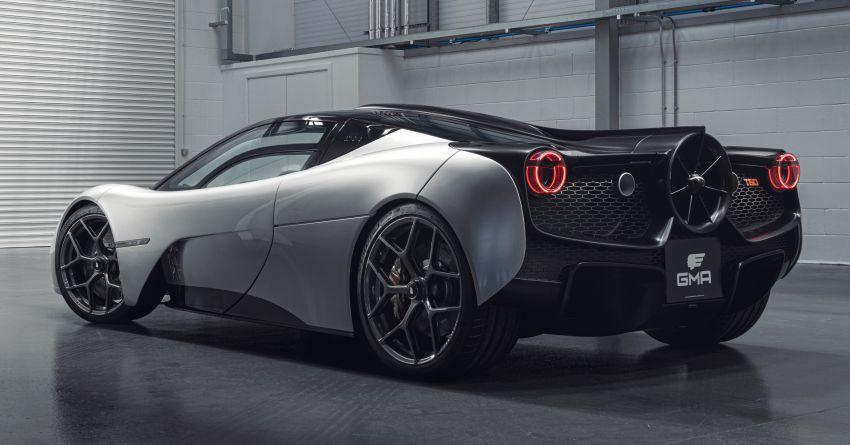 GMA T.50 debuts – true McLaren F1 successor with 3.9L NA V12, 12,100 rpm redline, 986 kg; RM13 million! Image #1155302