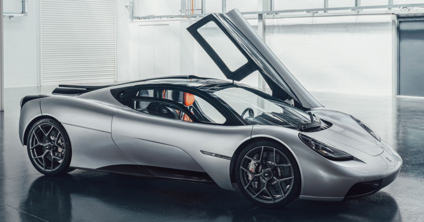 GMA T.50 debuts – true McLaren F1 successor with 3.9L NA V12, 12,100 rpm redline, 986 kg; RM13 million! Image #1155307