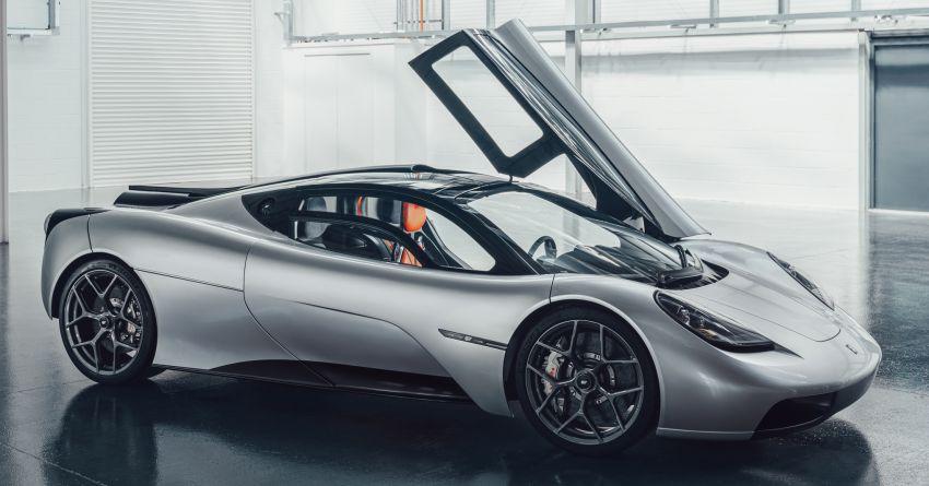 GMA T.50 debuts – true McLaren F1 successor with 3.9L NA V12, 12,100 rpm redline, 986 kg; RM13 million! Image #1155307